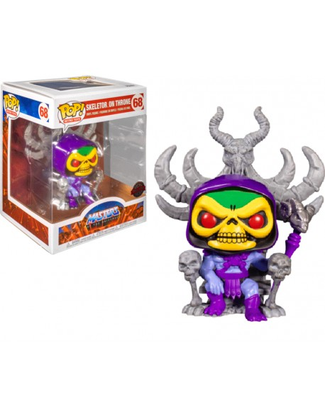 Funko Pop Skeletor On Throne Master Of The Universe Special Edition 68