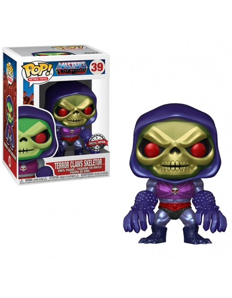 Funko Pop Skeletor Claws Terror Master Of The Universe Special Edition 39