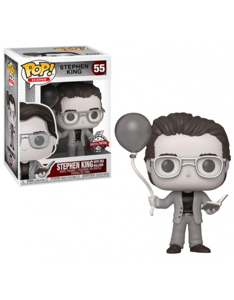 Funko Pop Stephen King With Red Balloon Special Edition 55