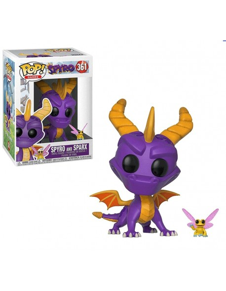 Funko Pop Spyro And Sparx