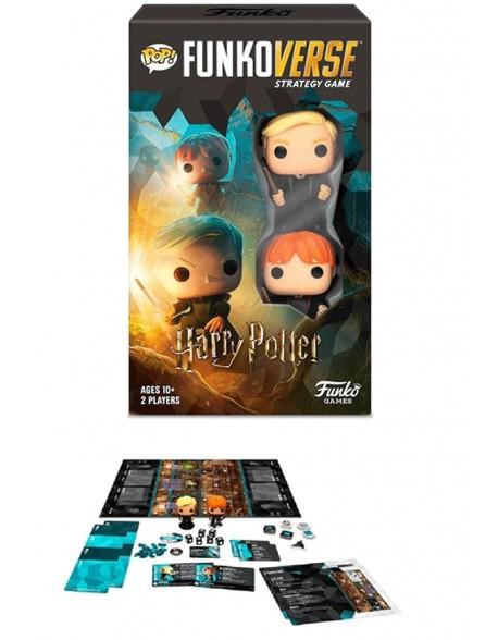 Funko Pop Funkoverse Harry Potter 2fig castellano juego de mesa