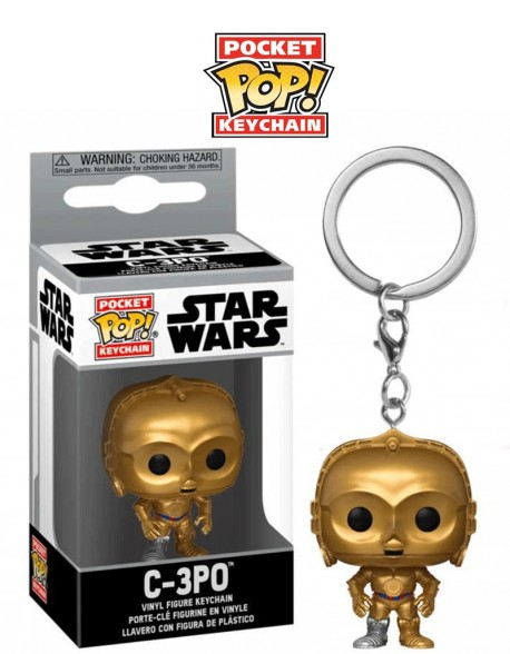 Pocket Pop C 3PO Star Wars Llavero Funko