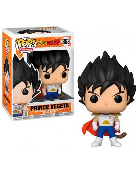 Funko Pop Prince Vegeta Dragon Ball Z 863