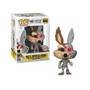 Funko Pop Wile Coyote As Cyborg Looney Tunes DC Special Edition 866