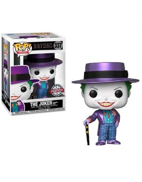 Funko Pop The Joker Special Batman Special Edition 337 Edicion Metalizado
