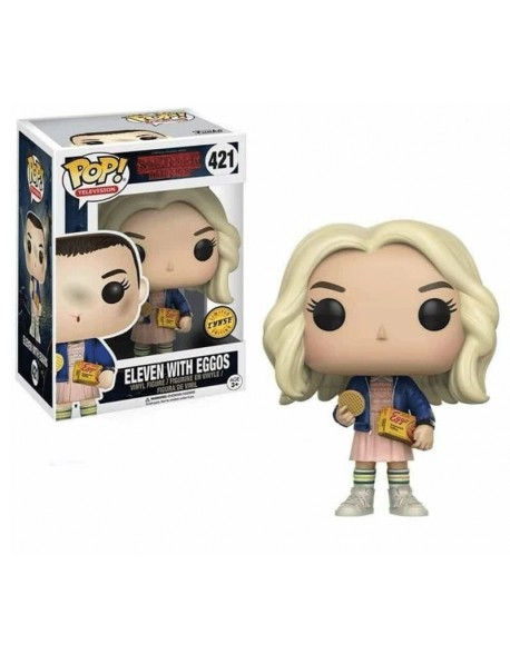 Funko Pop Eleven With Eggos Stranger Things Limited Chase 421