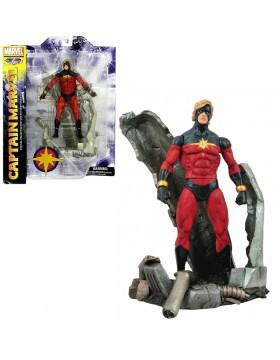 Capitan Marvel Select Pvc Diorama Gallery 20 cm Figura