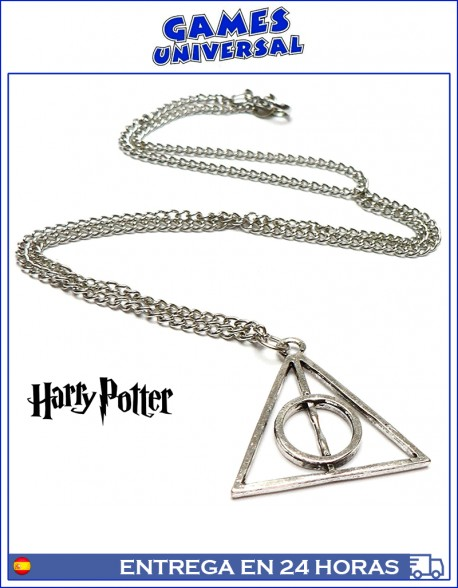 Collar Harry Potter colgante Reliquias De La Muerte