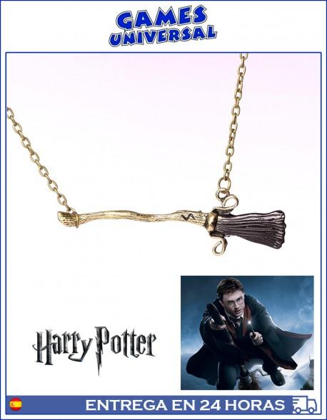 Colgante escobas Harry Potter Reliquias de la Muerte