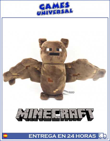 Minecraft Brown Bat peluche