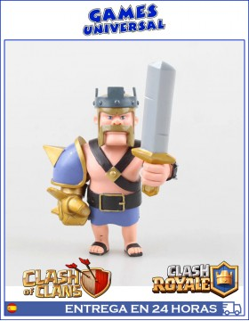 Rey Barbaro Clash of Clans Clash Royale 12 cm