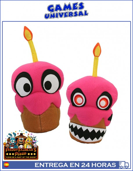 Five Nights At Freddy Nightmare Cupcake 40 cm cinco noches con Fredy
