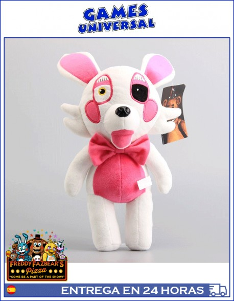 Five Nights At Freddy Peluche Mangle 30 cm cinco noches con Fredy
