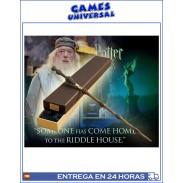 Varita Albus Dumbledore edicion delux Harry Potter