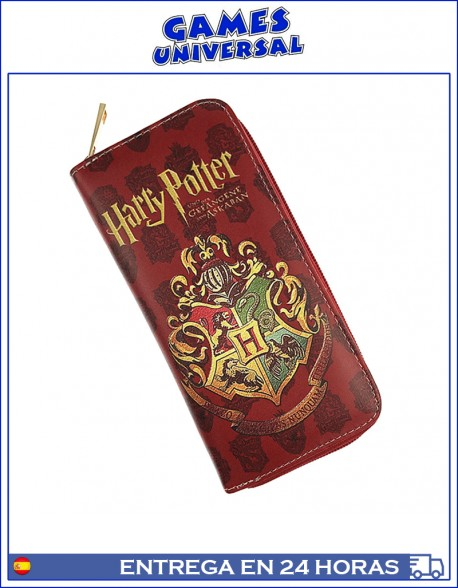 Billetera monedero Harry Potter escudo de escuelas