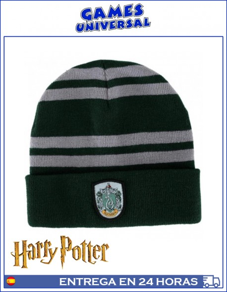 Gorro lana Slytherin Harry Potter