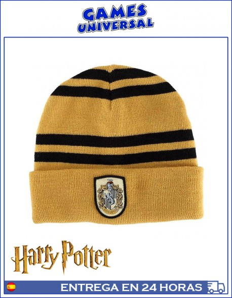 Gorro lana Hufflepuff Harry Potter
