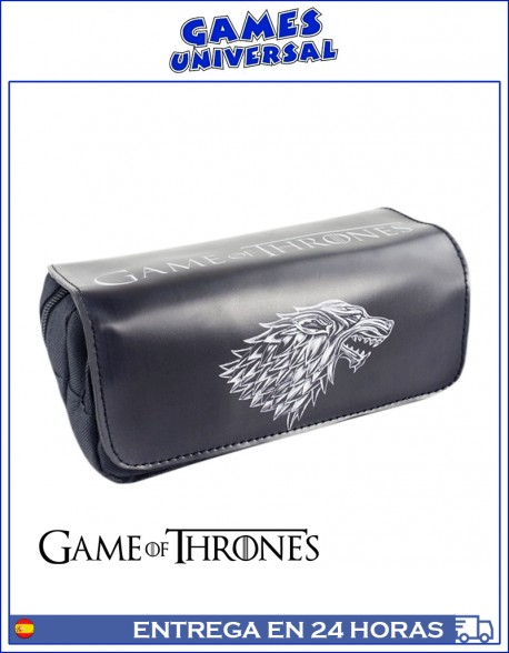 Estuche Game of Thones casa Stark multiusos 20 cm