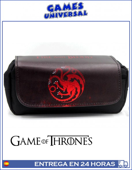 Estuche Game of Thones Targaryen multiusos 20 cm