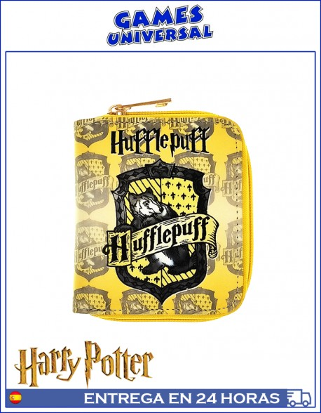 Monedero Harry Potter Hufflepuff