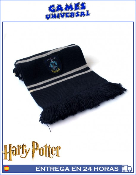 Bufanda Ravenclaw Harry Potter 190 cm largo algodon