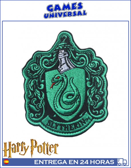 Parche Escudo Casa slytherin Harry Potter