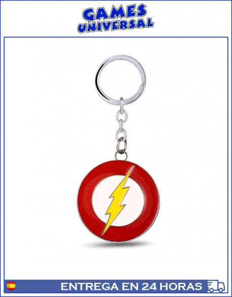 Llavero Flash metal super heroe