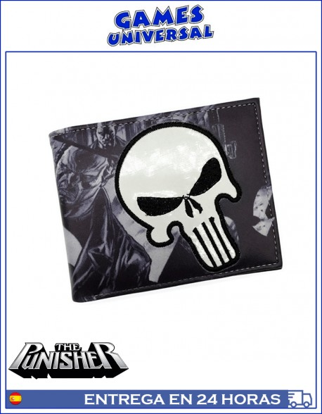 Cartera Punisher billetero monedero