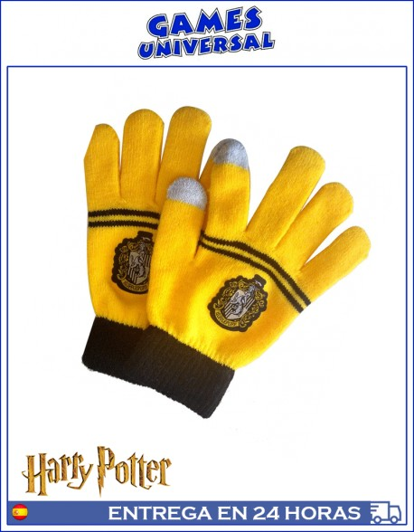 Guantes Harry Potter Hufflepuff