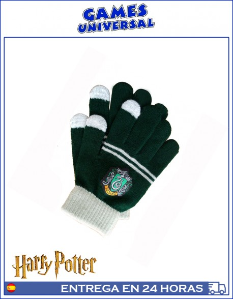 Guantes Harry Potter Slytherin
