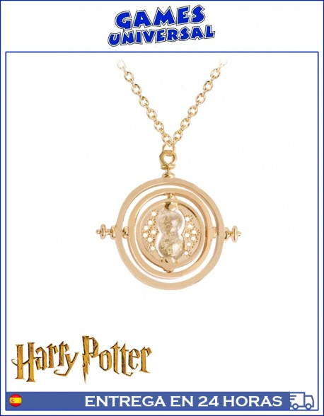 Giratiempo Hermione Collar colgante Harry Potter