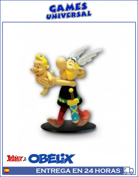 Asterix edicion Salvat 12 CM Figura coleccionismo