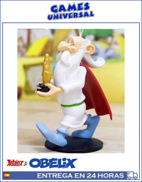 Panoramix de Asterix y Obelix edicion Salvat 12 CM Figura