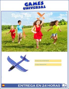 Avion Planeador Espuma 30 cm